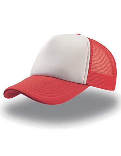 Atlantis Trucker – Gorra original White/Red/Royal Talla única