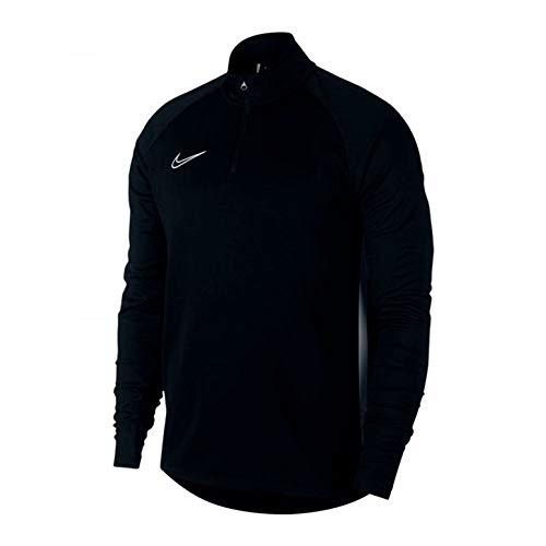 Nike Dri FIT Academy Big Kids Soccer Drill Top Black/White 7-8 (SB)