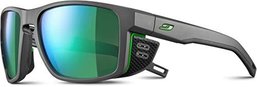 Julbo Herren Sonnenbrille Shield Einheitsgröße Grau/Grün