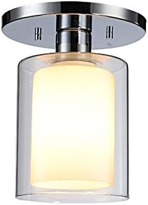 Woodbridge Lighting 14735CHR-C10651 Alaina 14735Chr Alaina 1-Light Semi-Flush