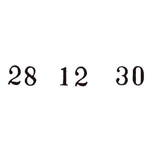 ライオン事務器『回転ゴム印飛日付4号』
