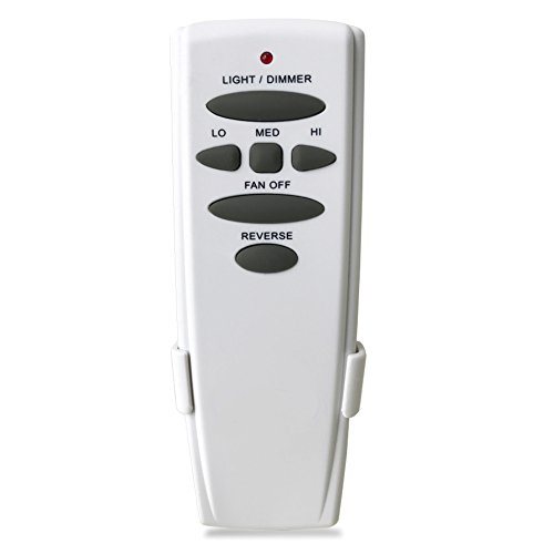 UC7078T Ceiling Fan Remote Control Replacement of Hampton Bay UC7078T, with Reverse