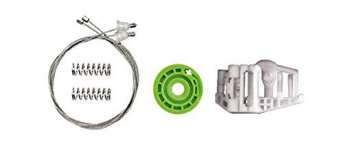 Bossmobil Trasero izquierdo, kit de reparación de elevalunas eléctricos compatible con (E90, E91)