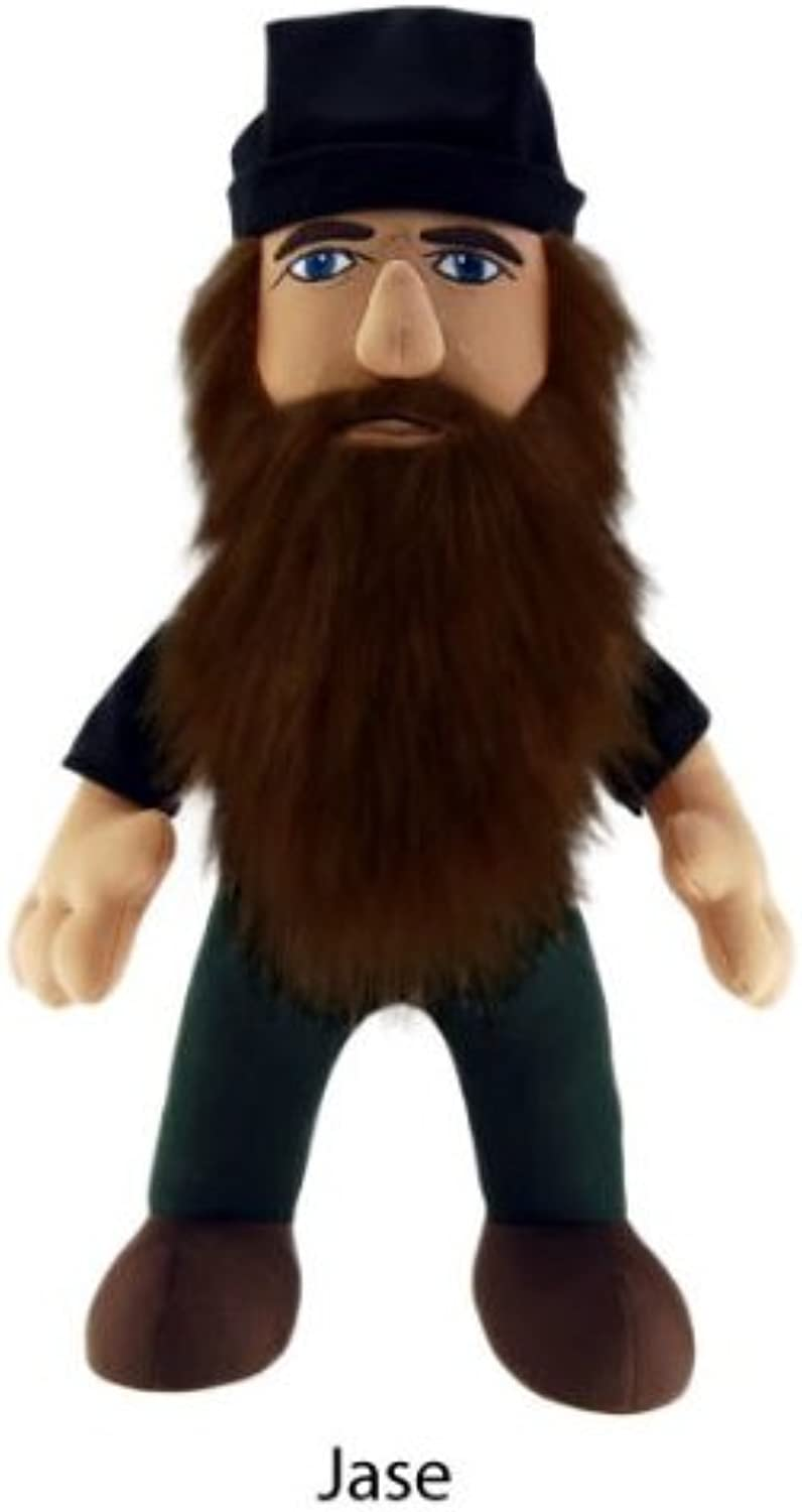 Duck Dynasty 13  Plush With Sound Jase