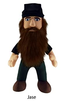 Duck Dynasty Jase 8  Plush Character with Sound