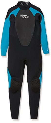 BILLABONG 403 Launch Wetsuit, Mujer, Black Turquoise, 12