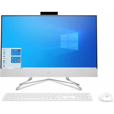 Todo en Uno HP 24-df0045ns AiO, Intel i3-10100T (3.0GHz), RAM 8GB, SSD 512GB PCIe NVMe, No DVD, WiFi, Bluetooth, Webcam, 23.8' FHD UWVA LED, Windows 10 Home, (Reacondicionado)