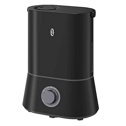 Cool Mist Humidifiers, TaoTronics 4L Ultrasonic Air Humidifier for Bedroom, Baby, Home for Large Room with Adjustable Mist Knob 360° Rotatable Nozzle, Auto Shut-Off, Easy to Clean, up to 60H Runtime