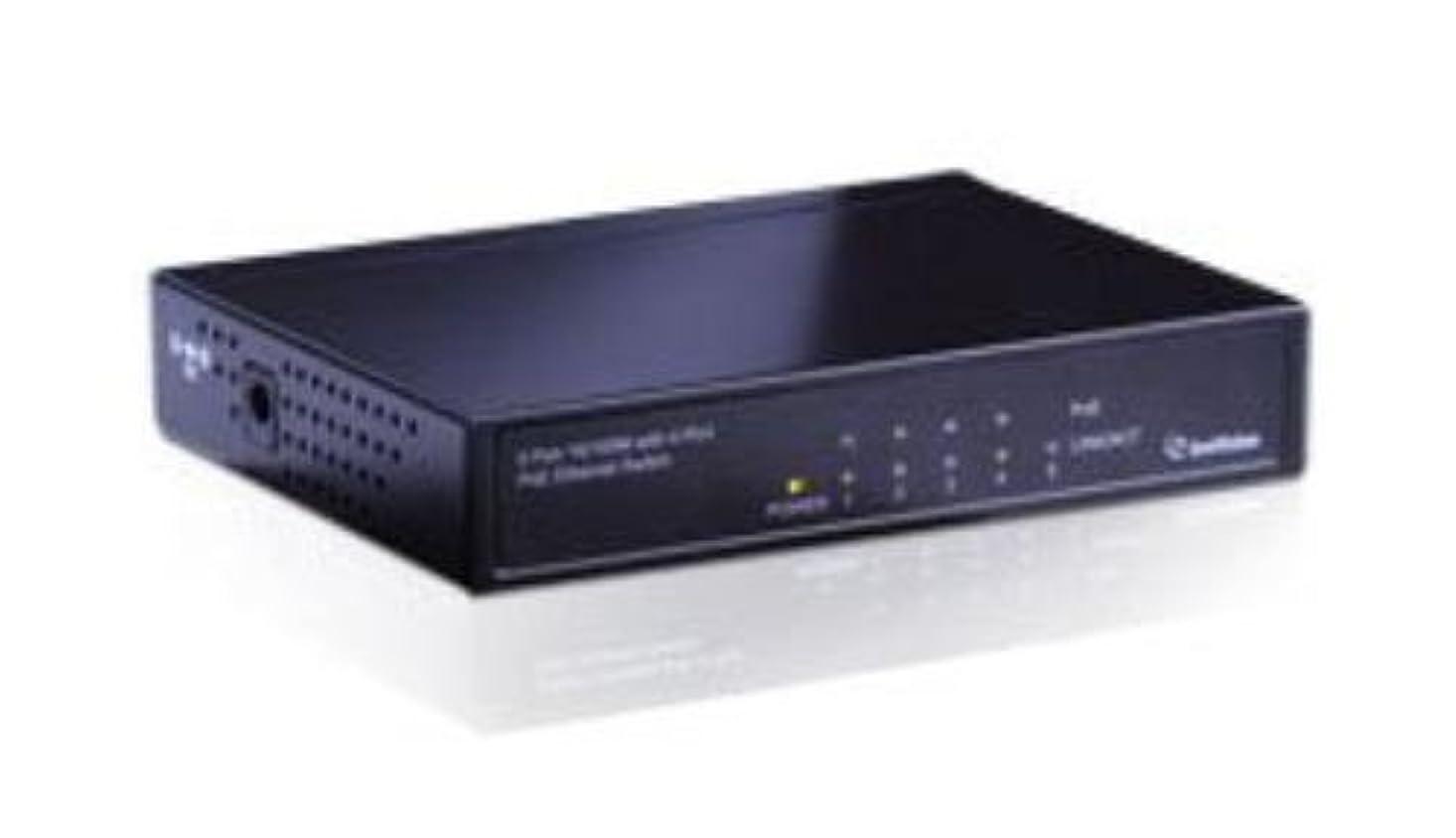 近代化ロボット画像GeoVision 10/100M PoE+対応4ポートスイッチングハブ GV-POE0400 正規代理店品