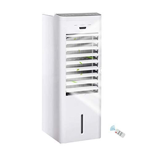 SWSPORT Aire Acondicionado Portátil, Air Cooler Climatizador Portátil, con Temporizador Y Mando A Distancia, 3 Velocidades, con Ruedas Y Tanque De Agua