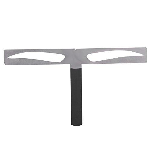 Sourcil règle, sourcil pochoir règle réutilisable équilibre en trois points Positionnement Kit sourcil Shaper pour sourcils mesure