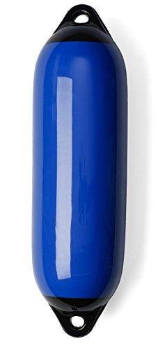 ARBO-INOX Marine Fender Bootsfender Rammschutz Langfender blau Größe Größe 3 Set (4 Stück)