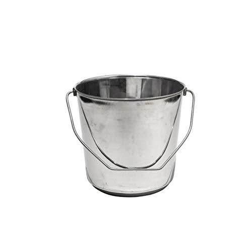 Cubo de Hielo de Barra Cubo de hielo de acero inoxidable Cubo de hielo Portátil Bucket Hotel Bucket Champagne Bucket Bebida Bucket Fiesta Actividades y Camping Vajilla Cubo de Champán ( Size : A )