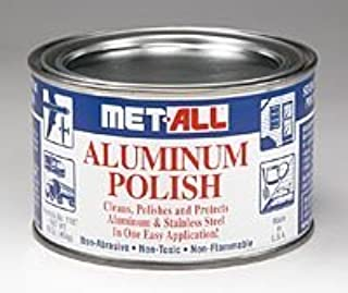 Aircraft Tool Supply Aluminum Polish, Met-All (16 Oz)