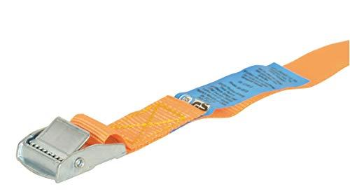 Carpoint 0928001 Spanngurt mit Klemme 7m x 25mm, Orange