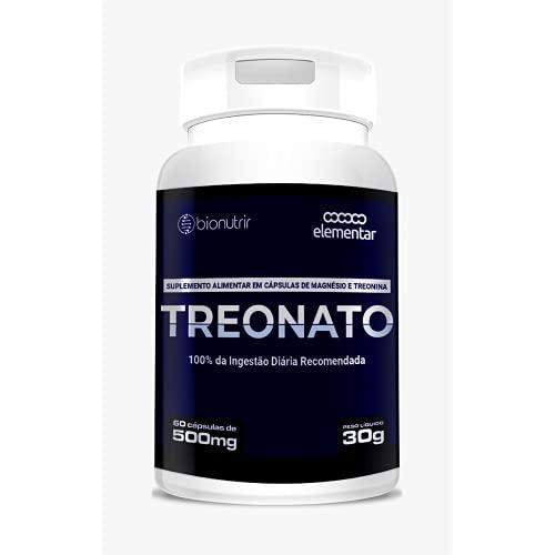 Magnésio Treonato, 60 cápsulas, Bio Nutrir