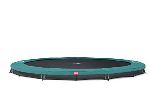 BERG Trampoline Inground Champion round 270 | Premium trampoline, kindertrampoline, langere levensduur, outdoor trampoline, sporttrampoline, springen hoger met TwinSpring en Airflow