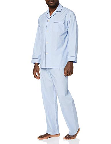 Brooks Brothers 100108757-400 Pigiama, Blu (Blue 400), X-Small (Taglia Produttore:XS) Uomo