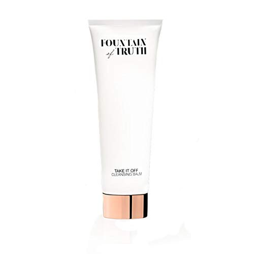 Fountain of Truth Take It Off Cleansing Balm – Exfoliating Daily Moisturizer Face Wash – Face Cleanser & Waterproof Makeup Remover – Clean, Natural & Efficacious Beauty & Skin Care Products