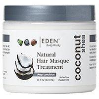 EDEN BodyWorks Coconut Shea Hair Masque Treatment, 16oz