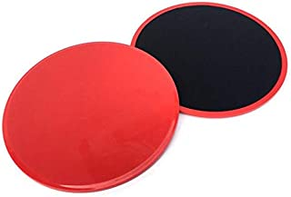 Core Sliders Exercise Gliding Discs Dual Sided, Set of 2 Workout Sliders Abdominal Exercise Equipment for Abdominal Total ...