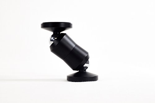 ClutchIt The Original Dual Magnetic Movable Phone Holder and Tablet Mount (Matte Black)