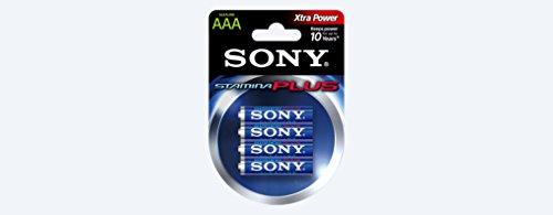 SONY Blister de 4 Piles Alcaline STAMINA + LR6 AA 1,5V