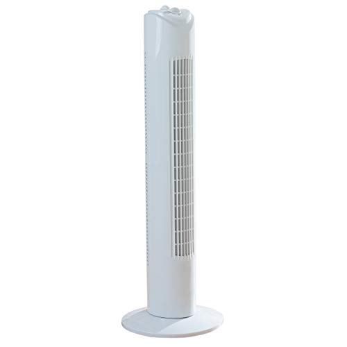 Fine Elements COL1258 32-Inch Tower Slim, 3 Speed Settings, 2 Hour Timer,...