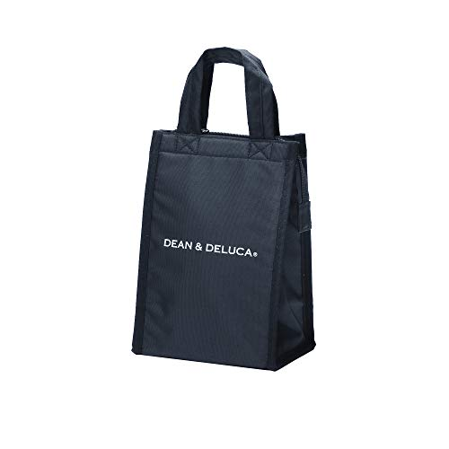 DEAN&DELUCA クーラーバッグ ブラックS 保冷バッグ ファスナー付き コンパクト お弁当 ランチバッグ