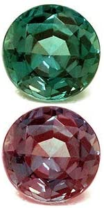 GemsNY 70% OFF Outlet GIA Certified 0.31 Carat Financial sales sale Alexandrite Single Round Natural
