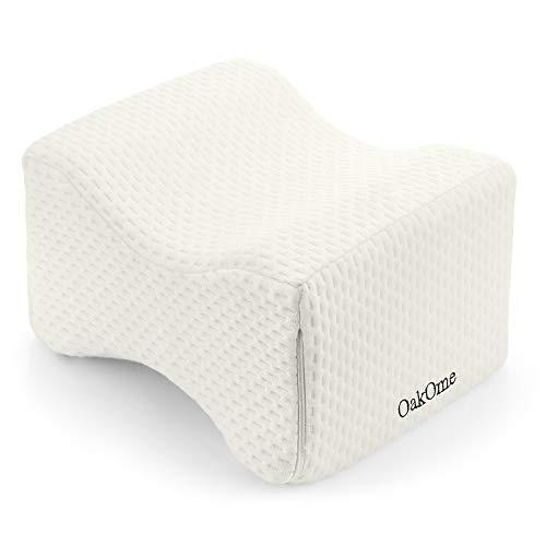 GBlife - Cuscino ergonomico per ginocchia per chi dorme sul fianco, in memory foam, adatto per gambe e schiena
