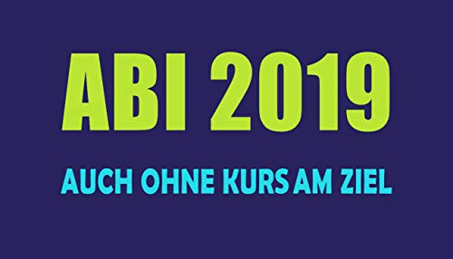 jilda-tex Abistrandtuch 90x180 cm Abihandtuch Strandtuch Strandtuch Abi 2019 420 GSM Abitur (Ohne Kurs blau)