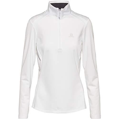 Salomon Discovery Lt T-shirt fonctionnel pour femme Blanc Taille L