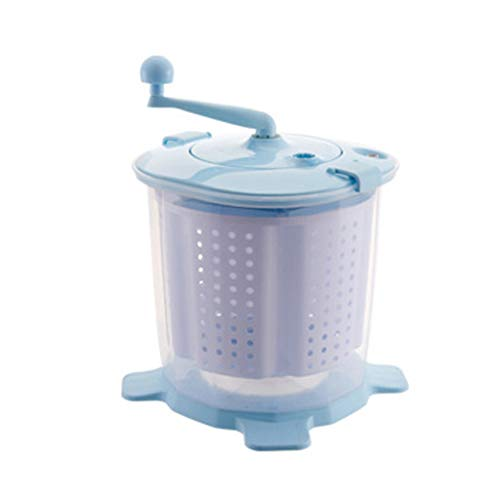 LPGY Tragbare Eco Mini Waschmaschine | Handgekurbelte Manuelle Kleidung Nicht Elektrische Waschmaschine Und Schleudertrockner, Einfach Zu Bedienen, FüR Wohnmobile Geeignet, Camping