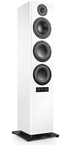 Nubert nuPro A-700 Standlautsprecher 2. Wahl   Lautsprecher für Stereo & Musikgenuss   Heimkino & HiFi Qualität auf hohem Niveau   aktive Standbox mit 3 Wege Technik   Standbox Weiß   1 Stück