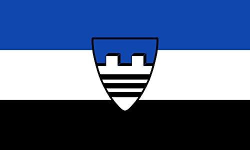 Unbekannt magFlags Tisch-Fahne/Tisch-Flagge: Baierbrunn 15x25cm inkl. Tisch-Ständer