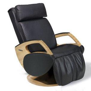Keyton Massagesessel | Massagestuhl Leder schwarz Dynamic welcon.de
