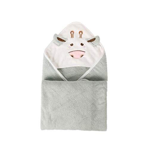 80 * 80cm katoen Cartoon Baby badhanddoek kleine koe Kids strand Hooded handdoek multifunctionele comfortabele kinderen Poncho # 8,8