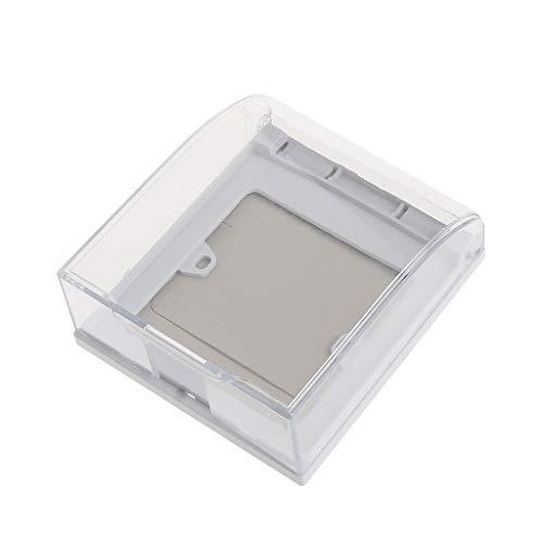 CAFFAINA Caja Impermeable de 86 Tipos para Interruptor de Pared y Enchufe para baño de Cocina