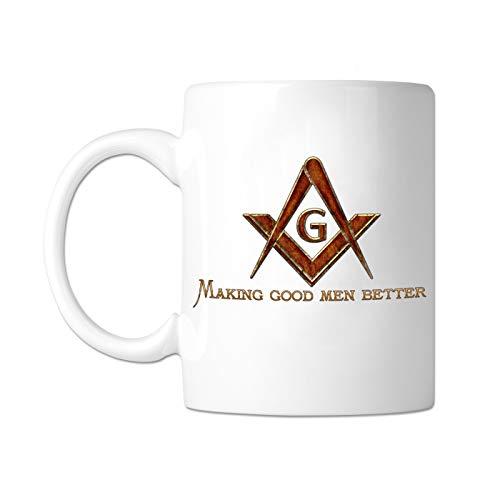 Machen Gute Männer besser 11Oz Kaffee Becher von The Freimaurer Exchange