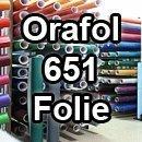 Oracal Orafol 651 Folie 5m freie Farbwahl 60 glänzende Farben in 4 Größen, 31,5 cm Farbe 10