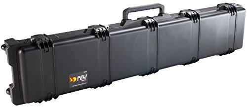 PELI Storm IM3410 Maleta Larga con Ruedas para trípodes fotográficos, Rifles y Otras Armas, Resistente al Agua y Polvo, 54L de Capacidad, Fabricada en EE.UU, con Espuma Personalizable, Color Negro