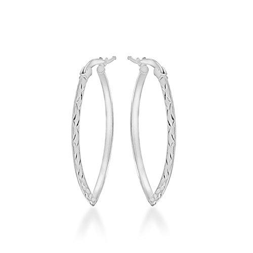 Tuscany Silver Pendientes de aro Mujer plata - 8.51.2159