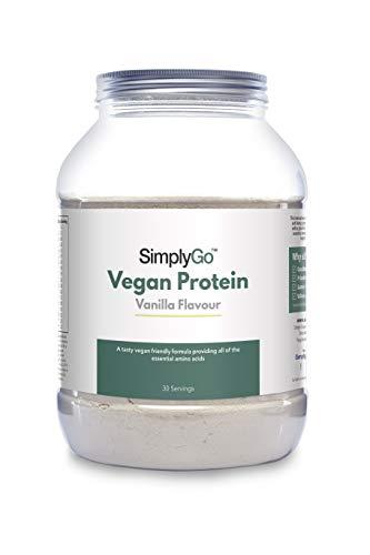 Protéines Vegan en Poudre (Vanille)...