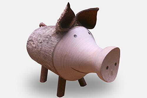 Waldfabrik Décapsuleur en bois en forme de cochon