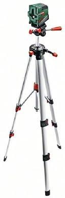 Foto di Bosch Home and Garden 0603008101 Livella Laser Multifunzione PCL, 10 Set, 1.5 V, Verde/Argento, m