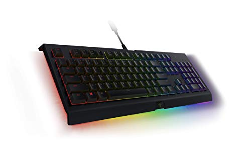 Razer Cynosa Chroma Pro Gaming Keyboard: Customizable Chroma RGB Lighting W/Underglow - Individuallly Backlit Keys - Spill-Resistant Design - Programmable Macro Functionality