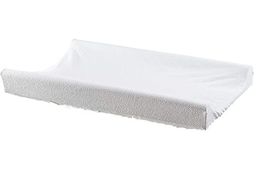 BABYDUCK | Coprifasciatoio in spugna | Fasciatoio universale | Copri-materassino | Copri-materasso | fasciatoio neonato | Copri-cuscino (Bianco 2 pack)