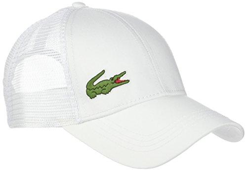 Lacoste Rk2321 Gorra de béisbol, Blanc, única (Talla del Fabricante: TU) para Hombre