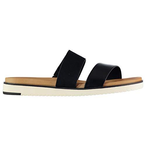 ALDO Lareniel Damen-Sandalen mit offener Spitze, Schwarz - Schwarz - Größe: 41 EU